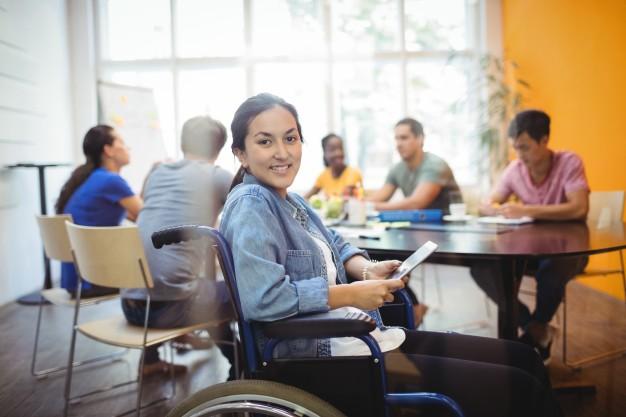 personne handicapée A.A.H