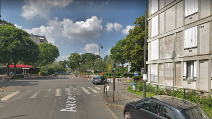 Avenue de France, massy Capture sur @Google Maps