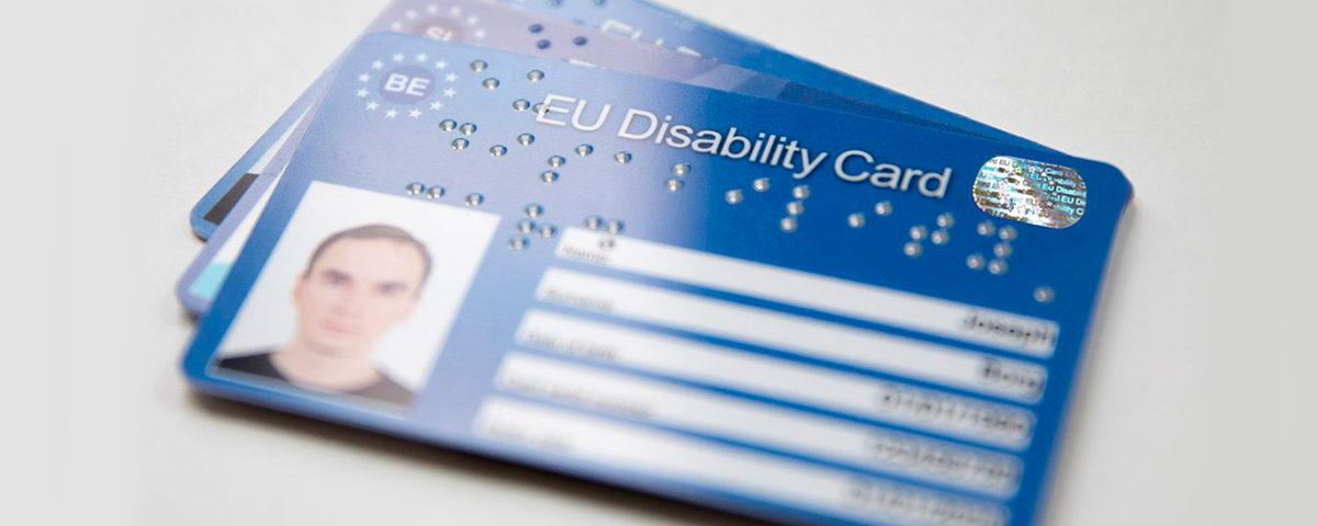 Carte européenne handicap
